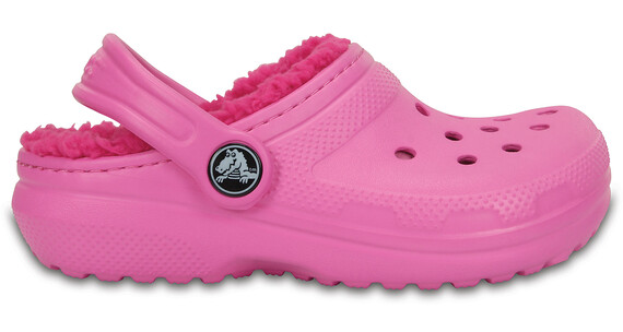 Crocs Classic Lined Clogs Kids Party Pink/Candy Pink